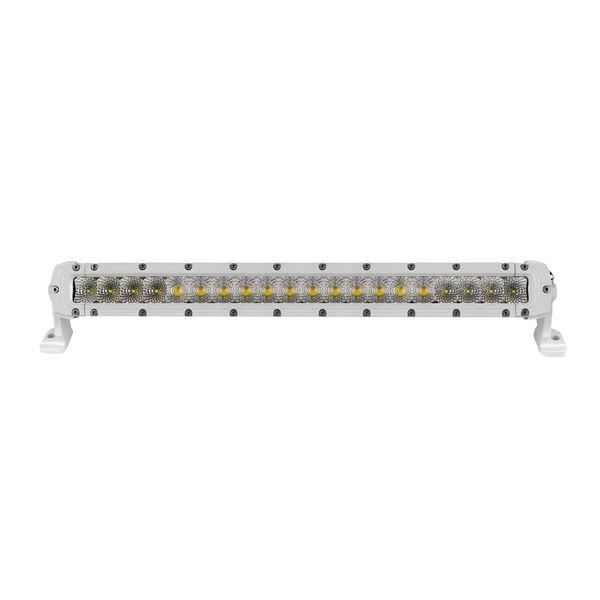 "Marine Sport Single Row 22"" LED Light Bar, White"