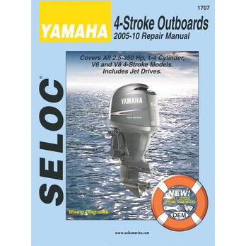 Seloc Marine Outboard Repair Manuals for Yamaha '05 - '10