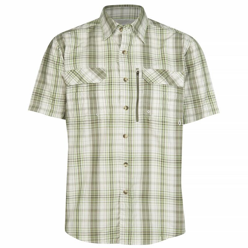 Nepallo Men's Trophy Quick-Dry Plaid Short-Sleeve Shirt image number 11