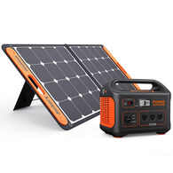 Jackery Explorer 880 Outdoor Portable Power Station and SolarSaga 100-Watt Solar Panel