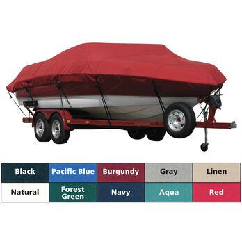 Sunbrella Boat Cover For Cobalt 23 Ls Deck Boat W/Strb Ladder W/Bimini Cutouts