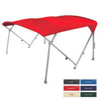 "Shademate Pontoon Bimini Top, Sunbrella Acrylic, 1.25"" Frame"
