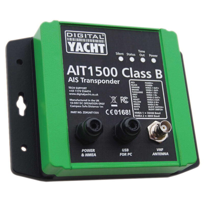 Digital Yacht AIT1500 Class B AIS Transponder With Built-In GPS image number 1
