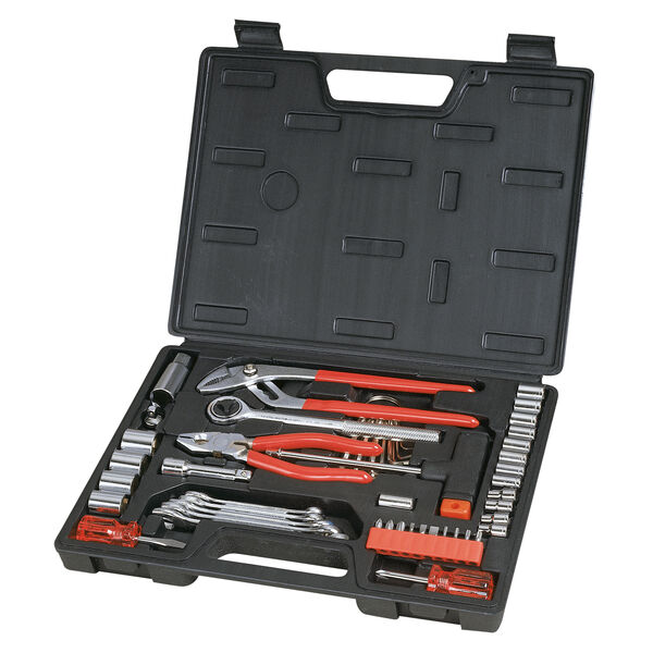 Great Neck 51-Piece Tool Kit With Molded Storage Case