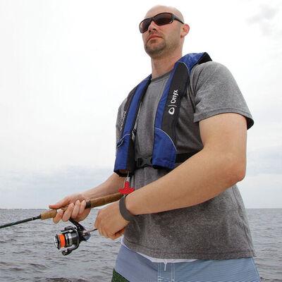 Onyx A/M-24 Auto/Manual Inflatable Life Jacket - Blue - OS