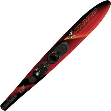HO Burner Slalom Waterski With Free-Max Binding And Rear Toe Plate