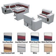 Deluxe Pontoon Furniture w/Classic Base - Complete Boat Package H