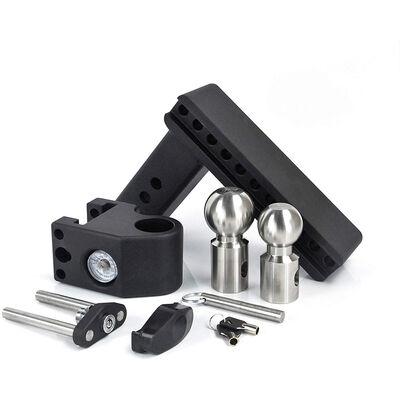 "Weigh Safe Steel Drop Hitch, SWS6-2.5, 6"" Drop, 2"" Shank"