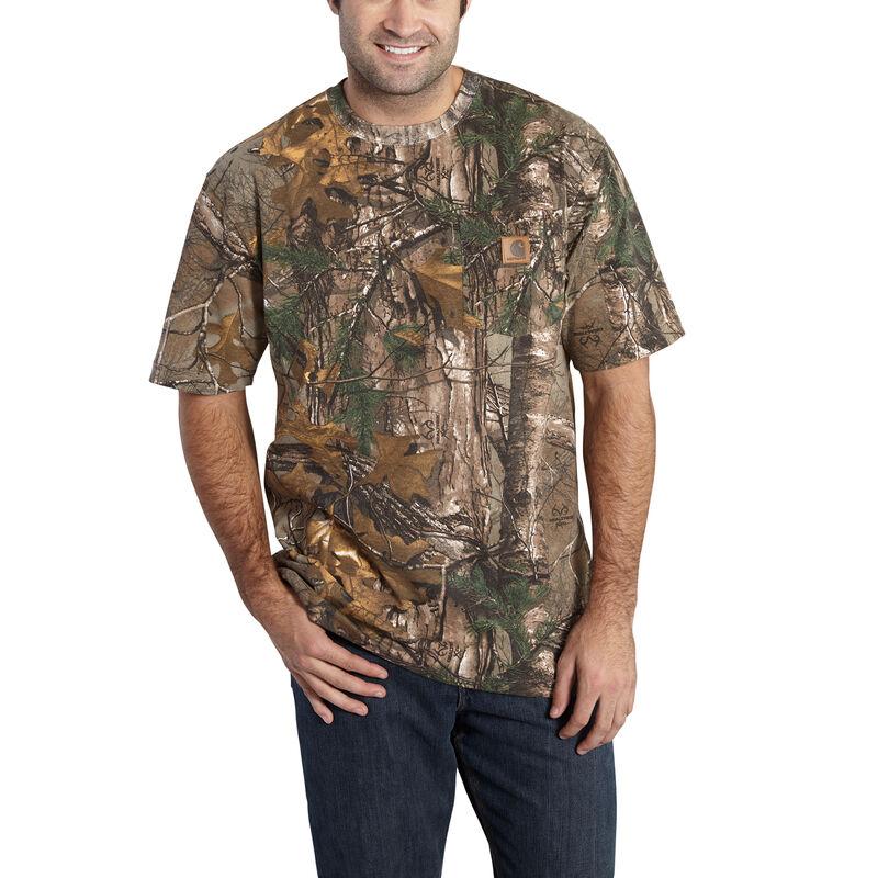 Carhartt Men's Realtree Xtra Short-Sleeve Pocket Tee image number 1