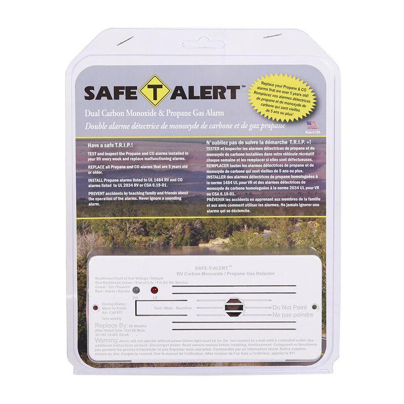 Safe-T-Alert Carbon Monoxide/Propane Alarm, White image number 2
