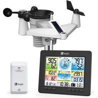 Logia 7-in-1 Wireless Weather Station with Wi-Fi and Solar Panel