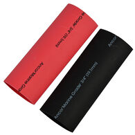 """Ancor Adhesive-Lined Heat Shrink Tubing, 8 - 2/0 AWG, 3"""" L, 1-Pk., Black/Red"""