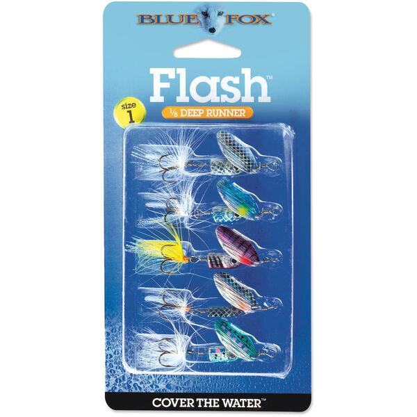 Blue Fox Flash Spinner Lure Kit