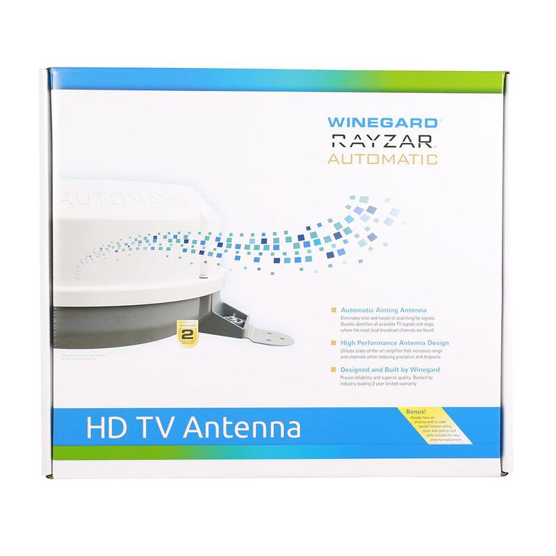 Rayzar Automatic Amplified HD TV Antenna image number 2