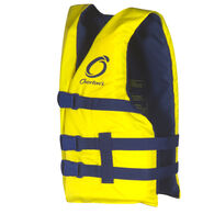 Overton's Youth Nylon Life Jacket, Yellow