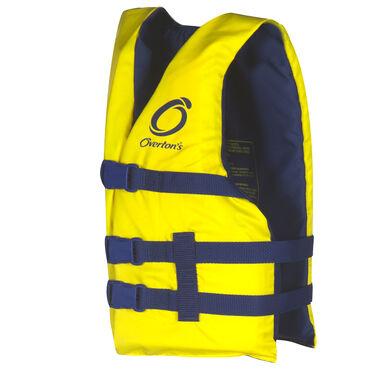 Overton's Youth Nylon Life Jacket, Yellow