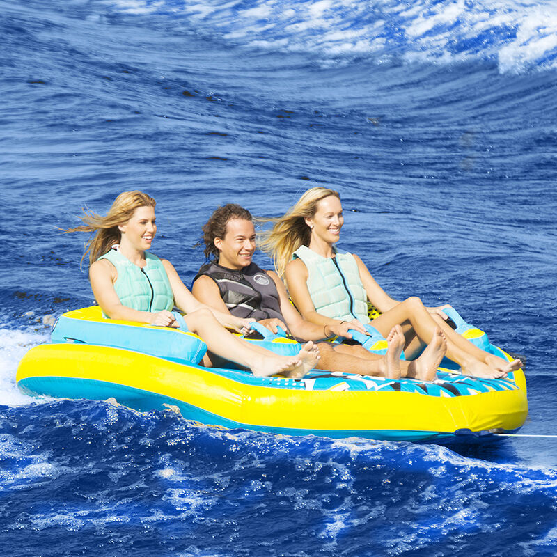 Liquid Force Zip 3-Person Towable Tube image number 3