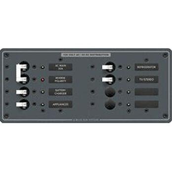 Blue Sea 120V AC Main + 6 Position Circuit Breaker Panel