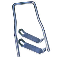 Tie Down U-Bolt Spare Tire Carrier with Brackets