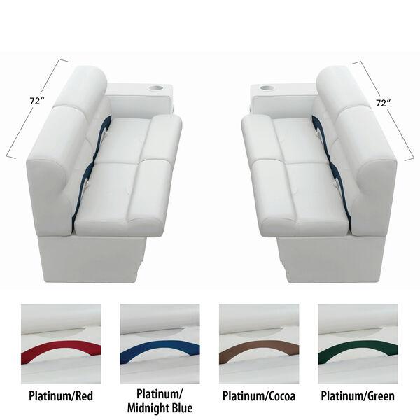 Toonmate Premium Pontoon Furniture Package, Large Front Seating Group
