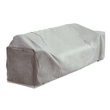 Gray Imperial Pontoon Boat Lounge Seat Cover