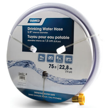 Camco TastePURE Drinking Water Hose, 75'L