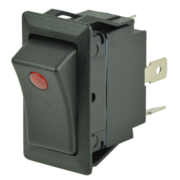 BEP SPST Rocker Switch, Off/On, 1 LED