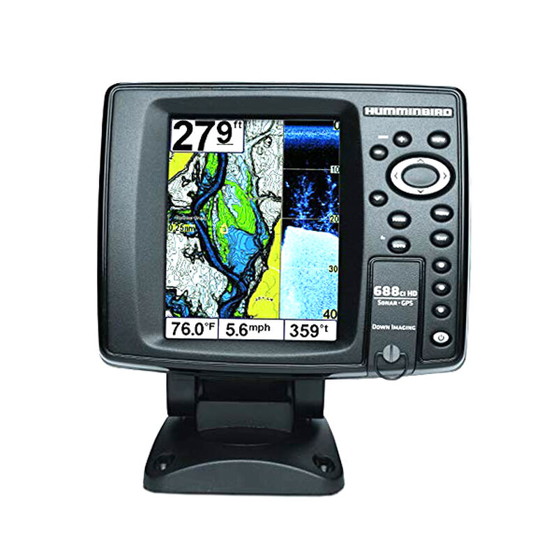 Humminbird 688ci HD DI Chartplotter Fishfinder Combo image number 1