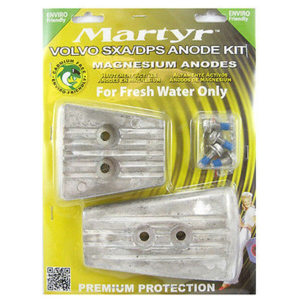Martyr Volvo Penta Anode Kit for SX-A/DPS Engines - Magnesium