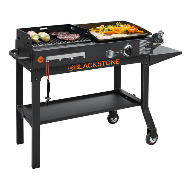 Griddle & Charcoal Grill Combo