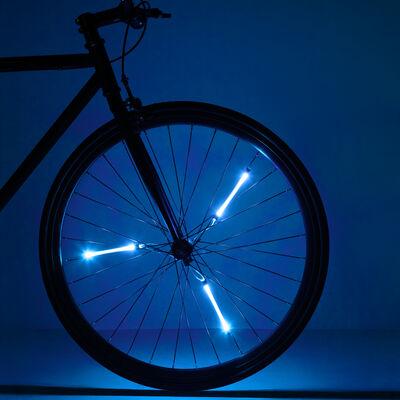 Spin Brightz Bicycle Spoke Lights, Blue