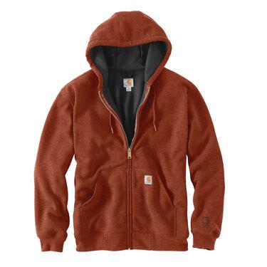 Carhartt Men's Rain Defender Rutland Thermal-Lined Hooded Zip-Front Sweatshirt