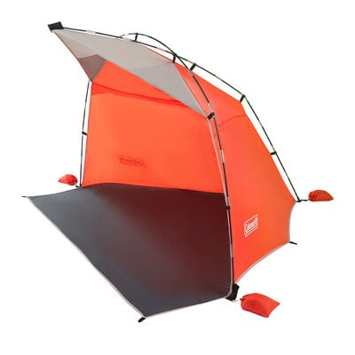 Coleman Skyshade Large Compact Beach Shade, Tiger Lily