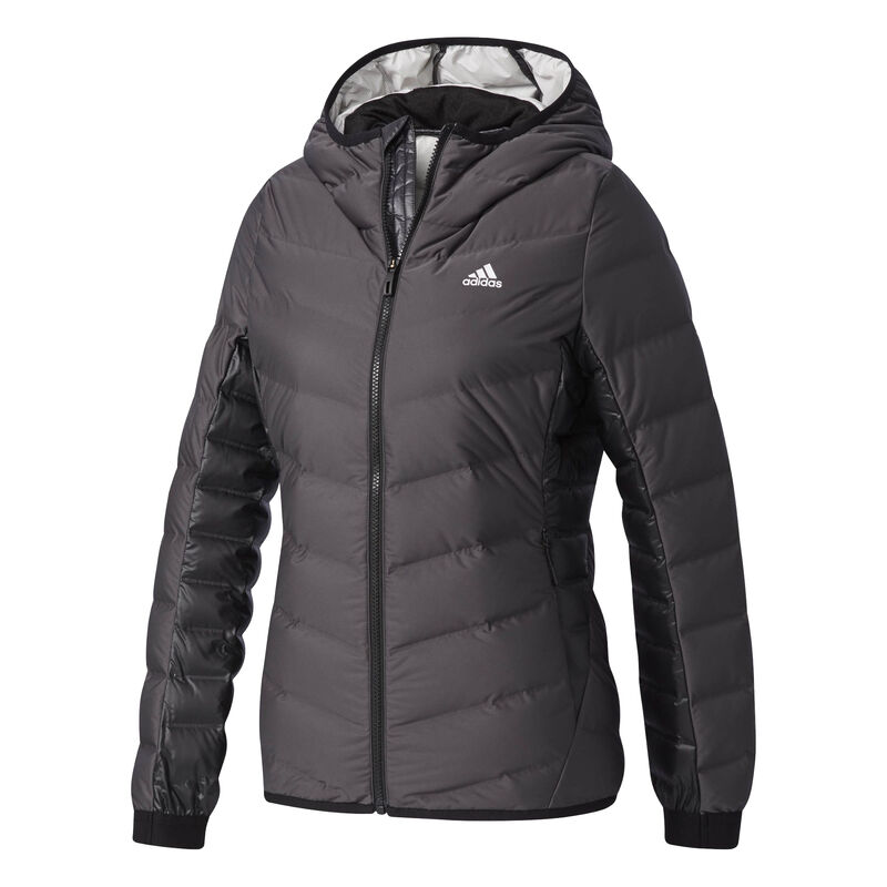 Adidas Women's Nuvic Hooded Down Jacket image number 10