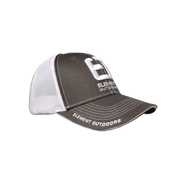Element Outdoors Drive Series White/Grey Mesh Back Cap