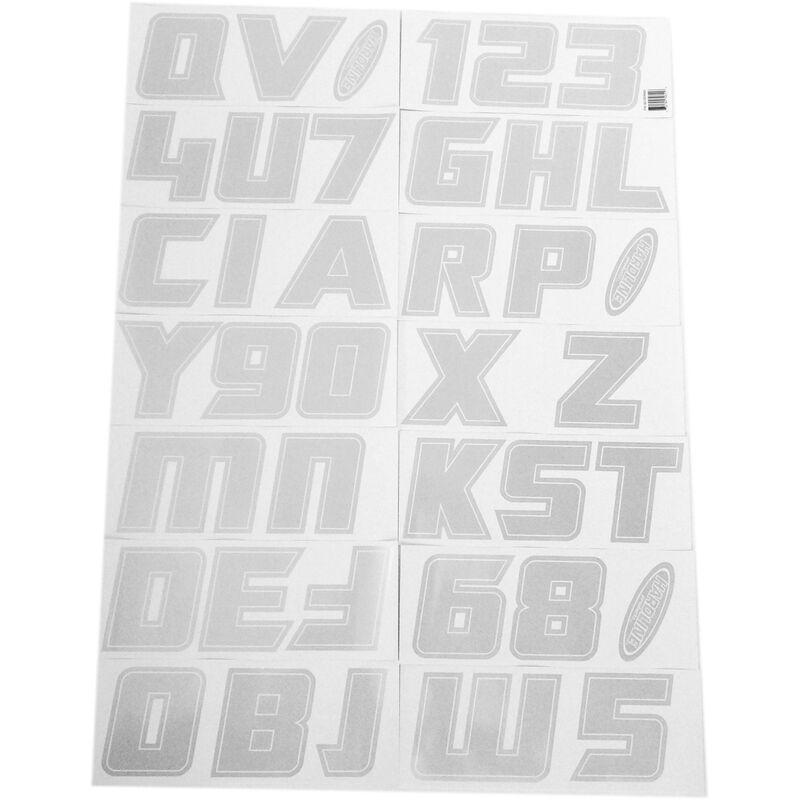 """Hardline 900 Series 3"""" Letter/Number Kit image number 15"""