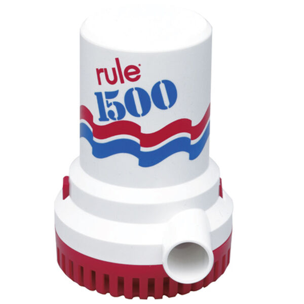 Rule Submersible Bilge Pump 02 - 1500 GPH