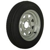 Tredit H188 4.80 x 12 Bias Trailer Tire, 4-Lug Spoke Galvanized Rim