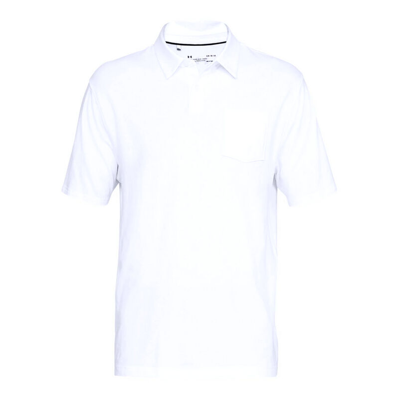 Under Armour Men's Charged Cotton Scramble Polo image number 11
