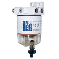 "Spin-On Series Fuel Filter/Water Separator For Outboards, 30 GPH (1/4""-18 Port)"