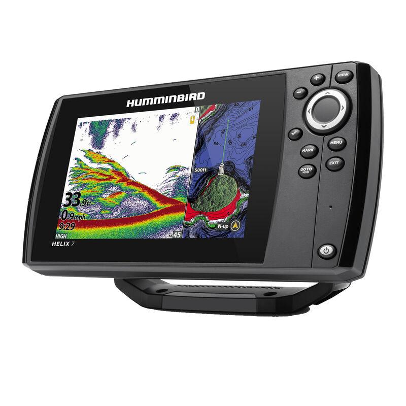 Humminbird Helix 7 CHIRP MEGA SI GPS G3 Fishfinder Chartplotter image number 3