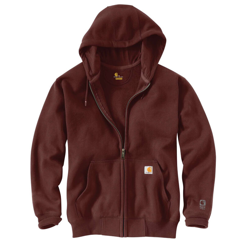 Carhartt Men's Rain Defender Paxton Heavyweight Hooded Zip-Front Sweatshirt image number 5