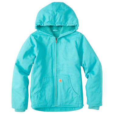 Carhartt Girl's Sherpa-Lined Redwood Jacket