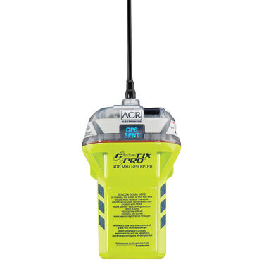 ACR GlobalFix iPRO Category 2 EPIRB With Dual GPS Technology