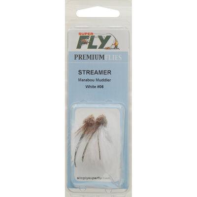 Superfly Streamer Marabou Muddler Fly, 2-Pack