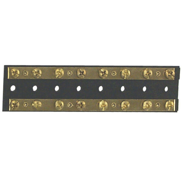 Sierra Dual Brass Bus Bar 16 Screw Terminals