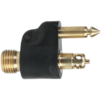"""Scepter Brass Male Tank Connector With 1/4"""" NPT For Yamaha"""
