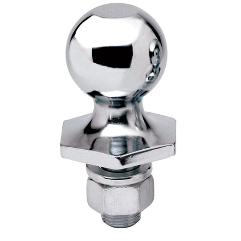 """Reese Interlock 2"""" Chrome Hitch Ball image number 1"""