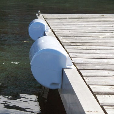 "Dock Edge DockSide Straight Bumper, 15-1/2""L x 6-5/8""H"