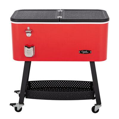 Creole Feast 80-Quart Premium Rolling Cooler